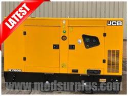modsurplus - ex military vehicle - Unused JCB 110 KVA Silent Generators - MoD Ref: 50391